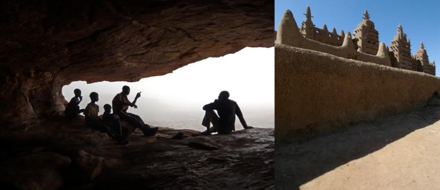 photographie du pays Dogon au Mali